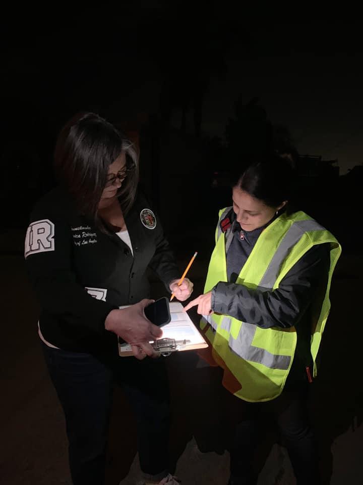 Councilwoman Monica Rodriguez - Greater LA Homeless Count