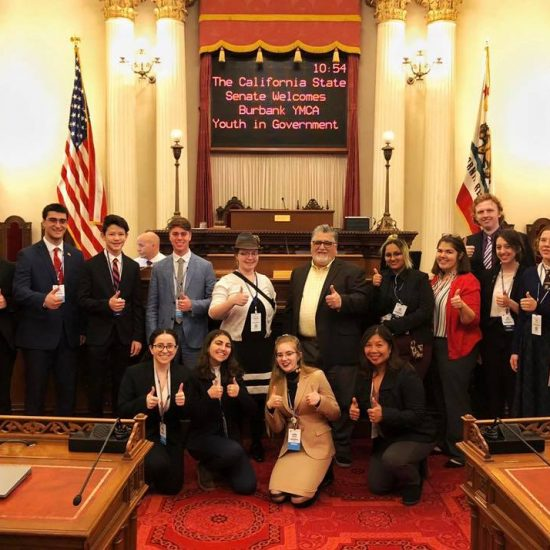 Senator Anthony Portantino - YMCA Youth and Government