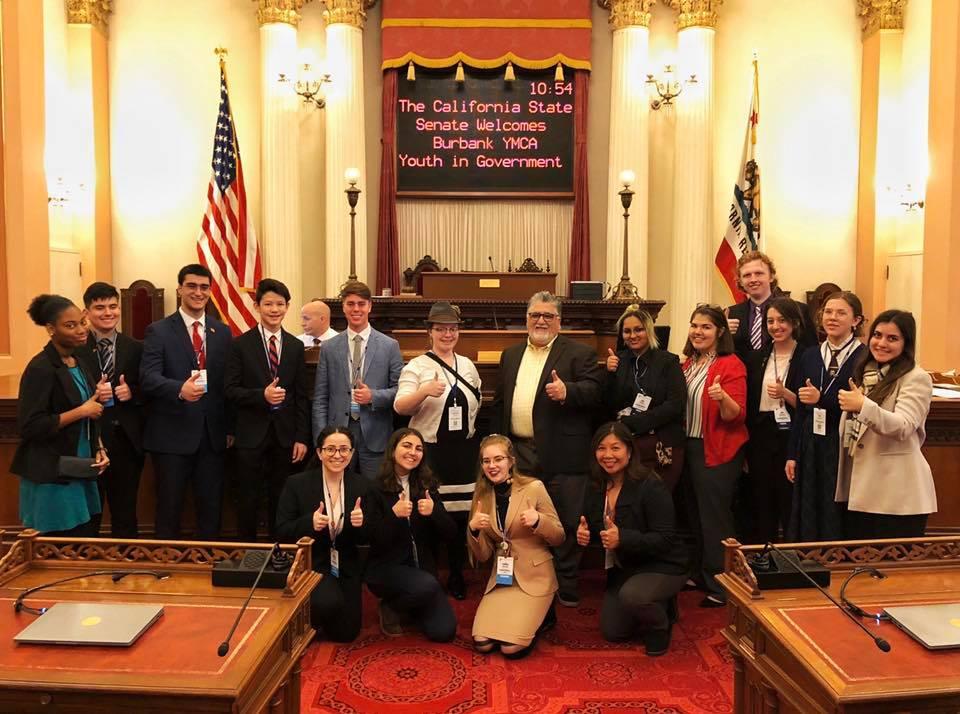Senator Anthony Portantino - YMCA Youth and Government