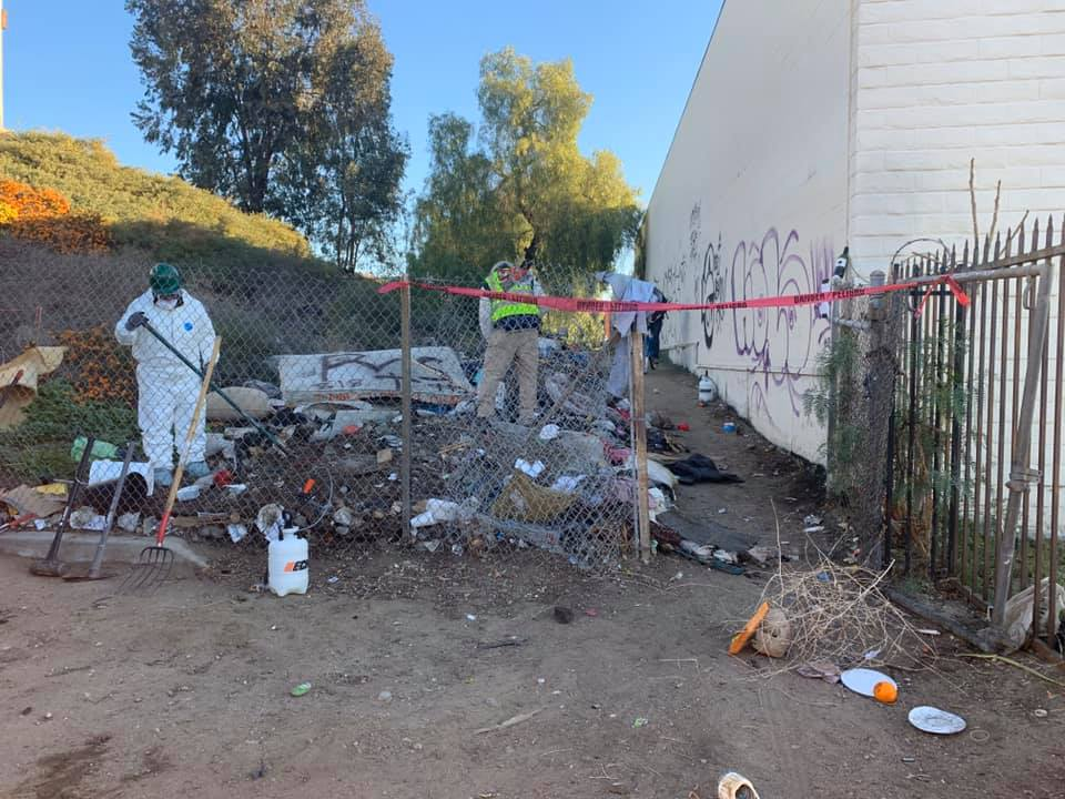 Assemblymember Luz Rivas - Cleanup at Paxton and Bradley