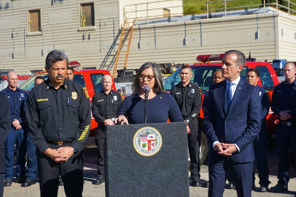 Councilwoman Monica Rodriguez - Fast Response Vehicle (FRV) Program