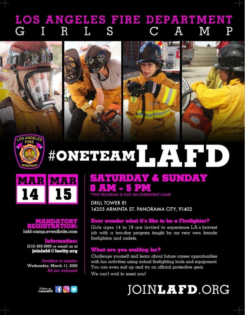 Sunland Tujunga Neighborhood Council - L.A. Fire Department Girls Camp