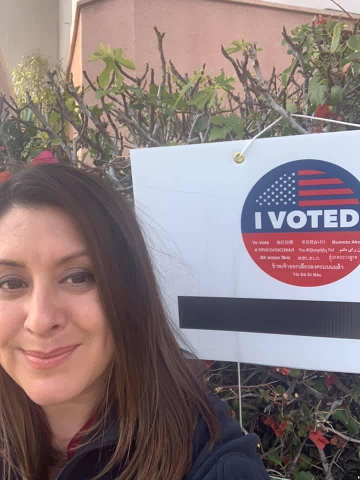 Assembly member Luz Rivas - I Voted