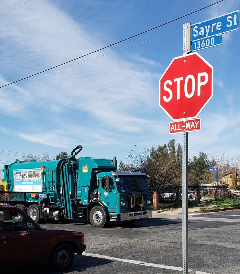 Councilwoman Monica Rodriguez - Installation a New STOP Sign at Sylmar