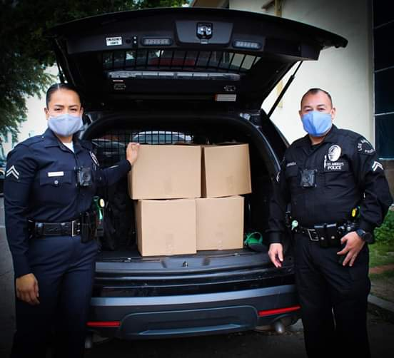 From Councilwoman Monica Rodriguez Desk - Special Thanks to the the Officers at the LAPD Mission Community Police Station