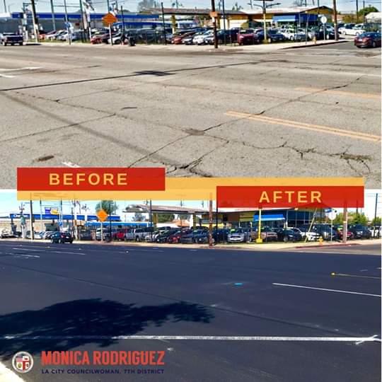 Councilwoman Monica Rodriguez  - Progress in Pacoima