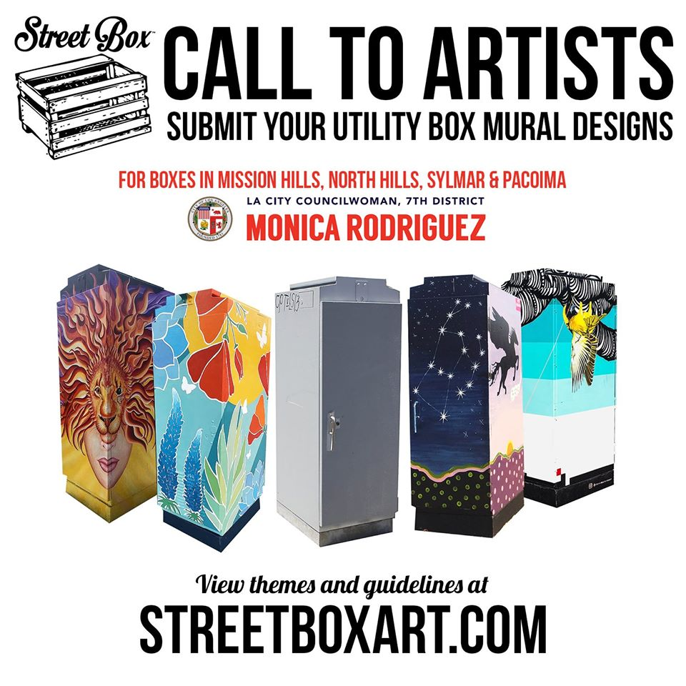 Call to Artists - Submit Your Utility Box Mural Designs