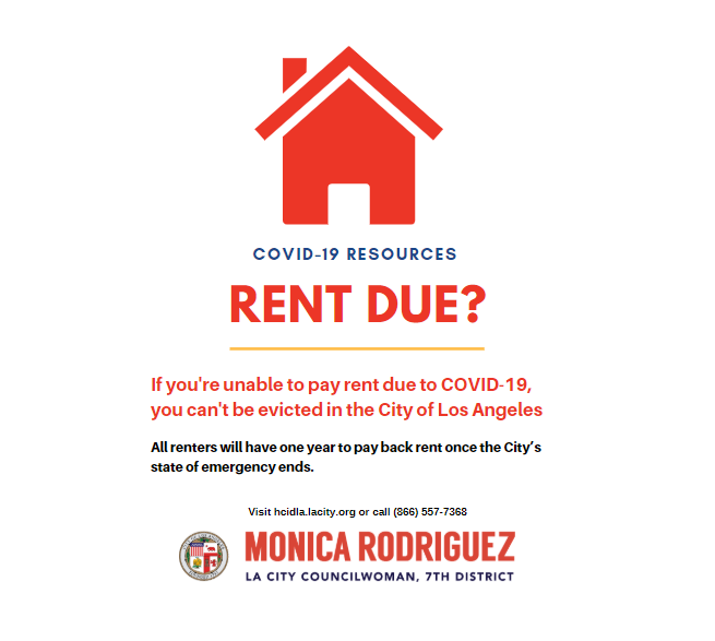 From Councilwoman Monica Rodriguez Desk - Important that Renters know Their Rights