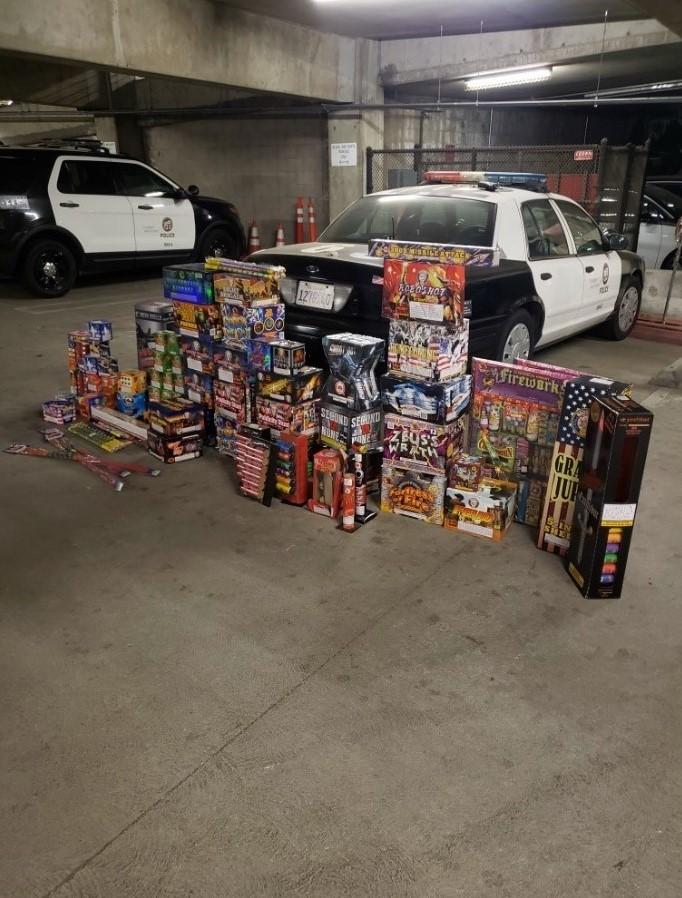 Report Illegal Fireworks