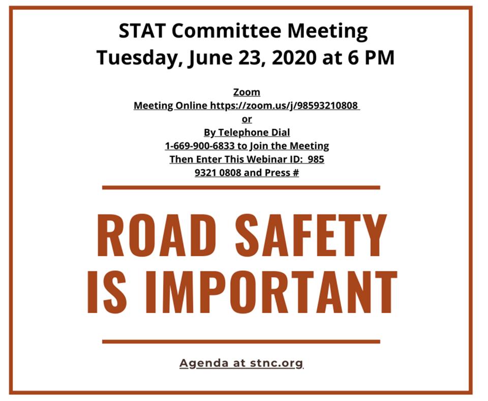 STAT – Safe Transportation & Traffic Committee Meeting