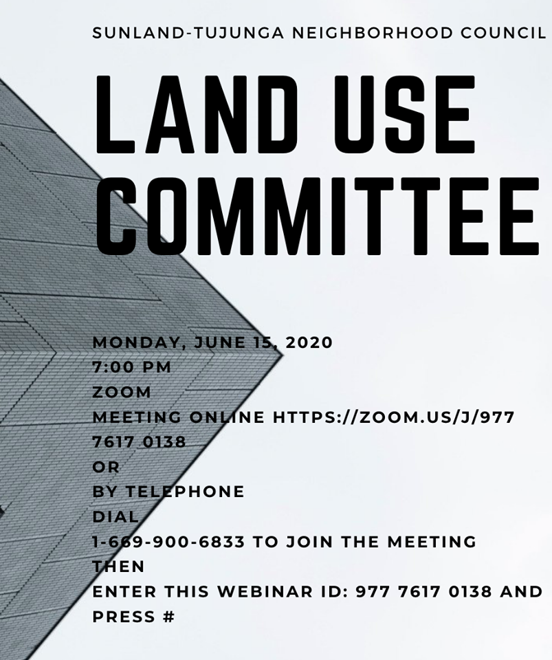 STNC Land Use Committee