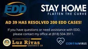 AD 39 Resolved 200 EDD Cases