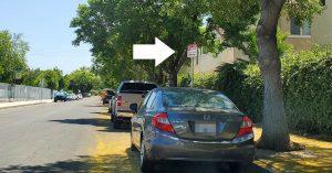 Installing Parking Restrictions Signage