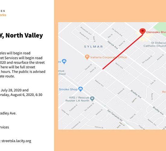 Los Angeles will Begin Road Reconstruction