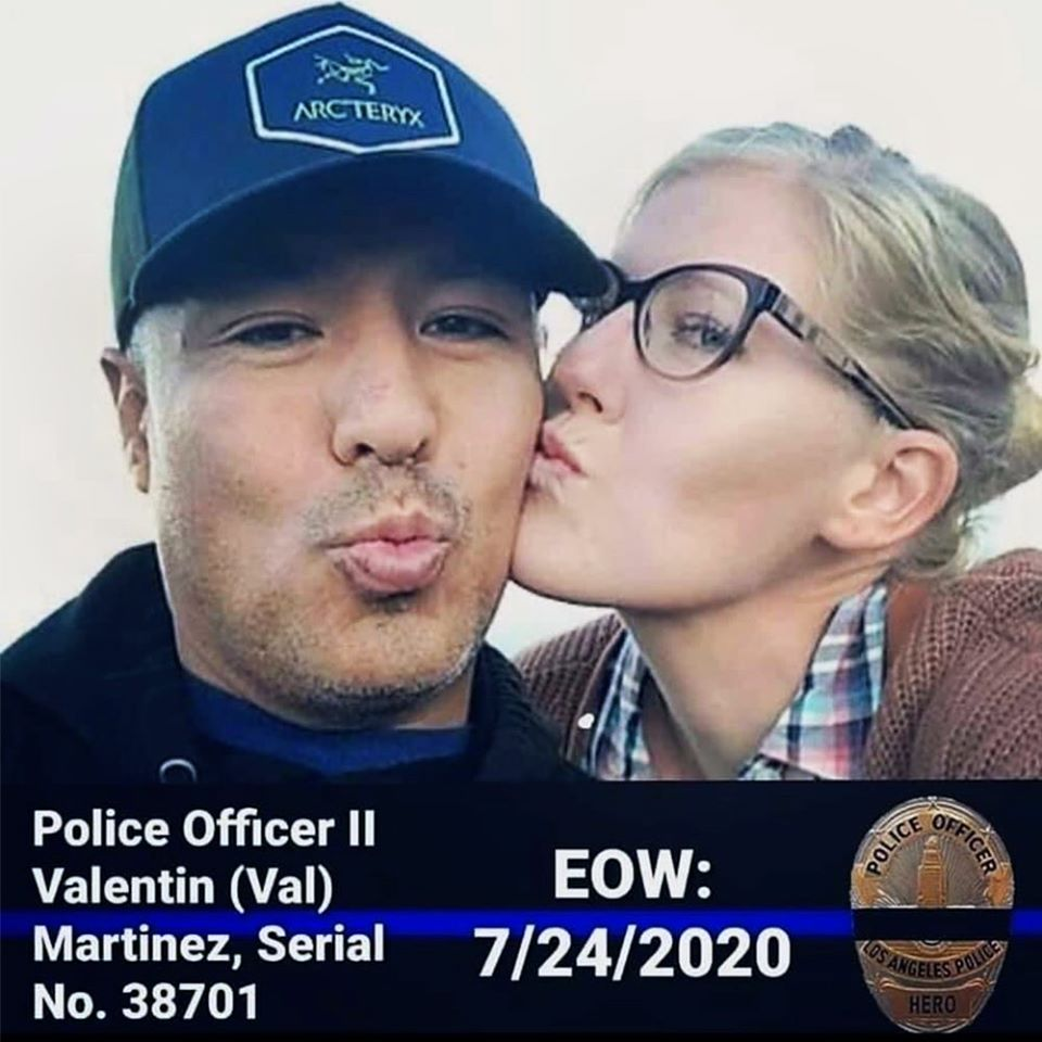 Passing of LAPD Officer Valentin Martinez