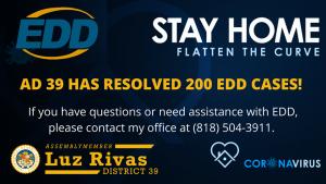 Resolved 200th #EDD case