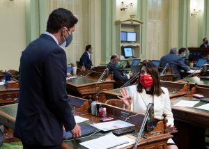 Legislative Floor Session in Sacramento