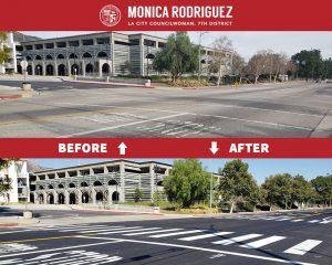 Major Road Resurfacing Project on Eldridge Avenue