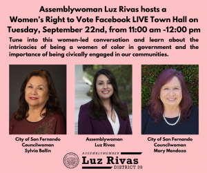 Women's Right to Vote Town Hall