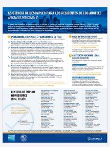 From Sunland Tujunga Neighborhood Council STNC - Unemployment Assistance Programs