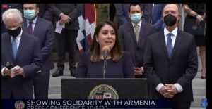 Federal Officials stood in Solidarity with Armenia