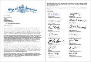 Letter to Mercury, a Public Affairs Firm
