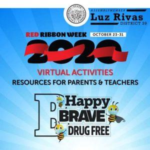 From Assemblymember Luz Rivas Desk - Red Ribbon Week