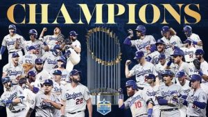 Congrats to our LA Dodgers!!