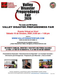 Valley Disaster Preparedness Virtual Fair