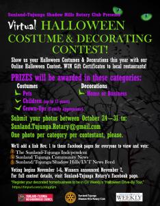 Virtual Halloween Costume & Decorating Contest