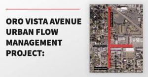 Oro Vista Avenue Urban Flow Management Project