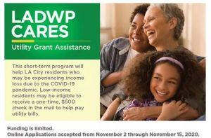 From Sunland Tujunga Neighborhood Council STNC - Need Help Paying Your LADWP Bill ?