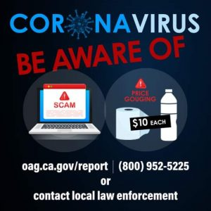 Scams Surrounding COVID-19