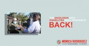 The Angelenos with Disabilities Meal Program