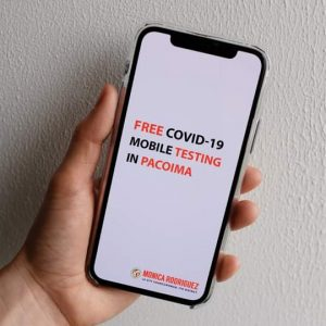 Free COVID-19 Mobile Testing in Pacoima