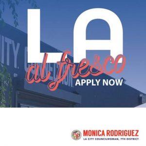 L.A. Al Fresco! Apply Now