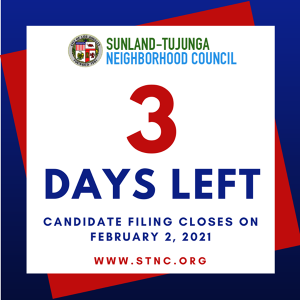 Filing ends Tuesday, Feb 2nd
