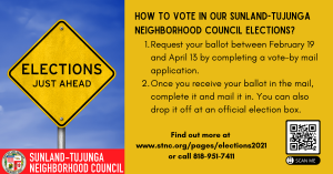 How to Vote in STNC Elections