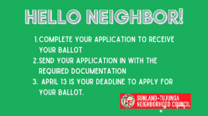 How to request your ballot