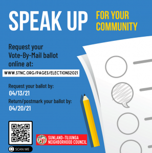 Request Your Vote-By-Mail Ballot