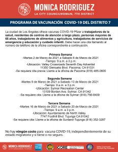Workers Eligible for the COVID-19 Vaccine