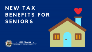 New Property Tax Benefits for Seniors