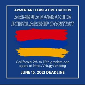 Two Scholarship Contests for the 2021 Commemoration of the Armenian Genocide