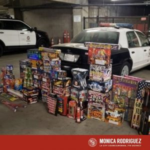 Fireworks are Illegal in the City and County of Los Angeles