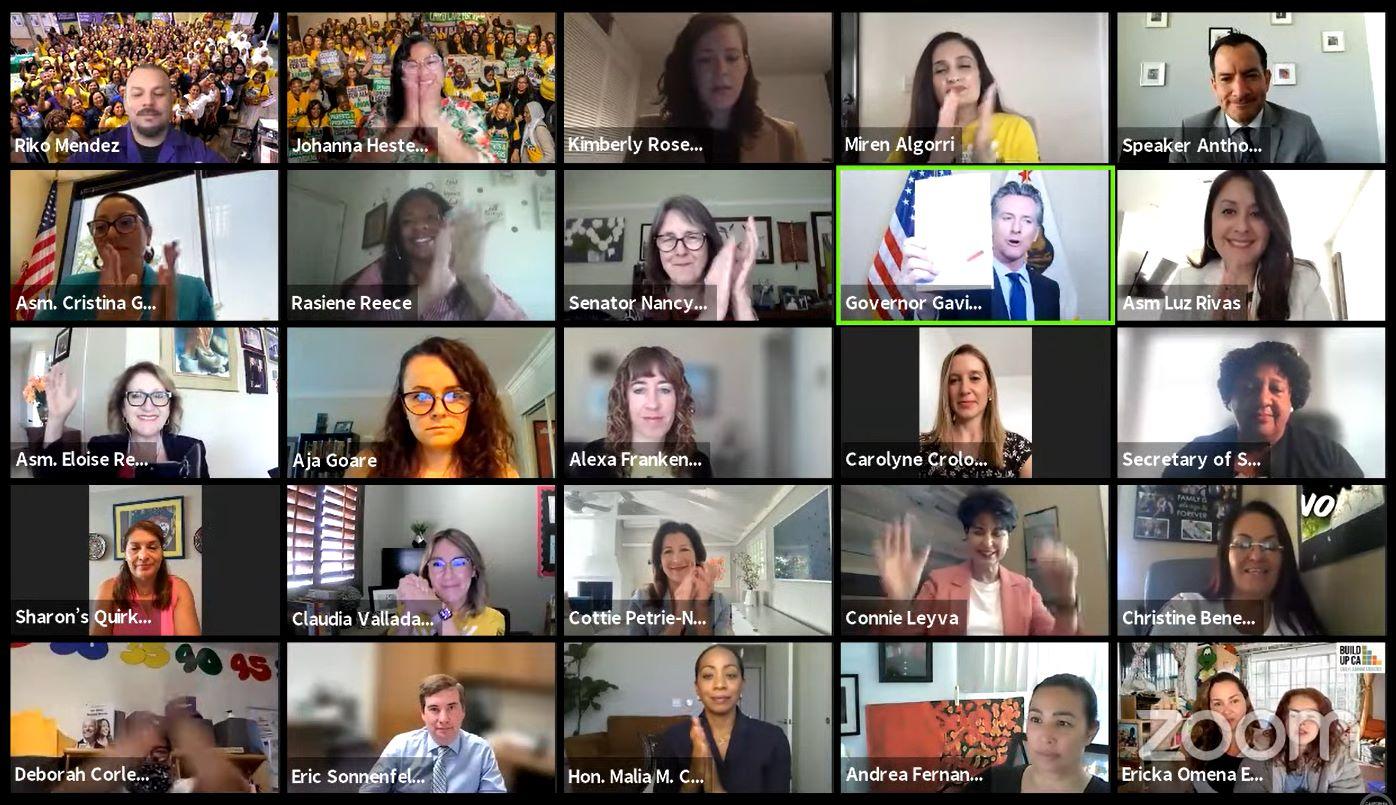 California Legislative Women's Caucus