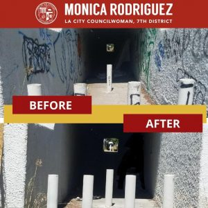Illegal Dumping and Graffiti in a Walkway Tunnel