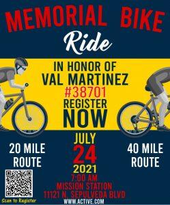 Memorial Bike Ride