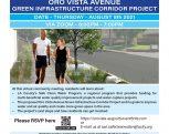 Oro Vista Avenue Green Infrast ructure Corridor Project