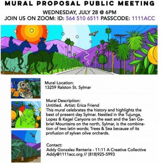 Public Notice - Mural Proposal Public Meeting