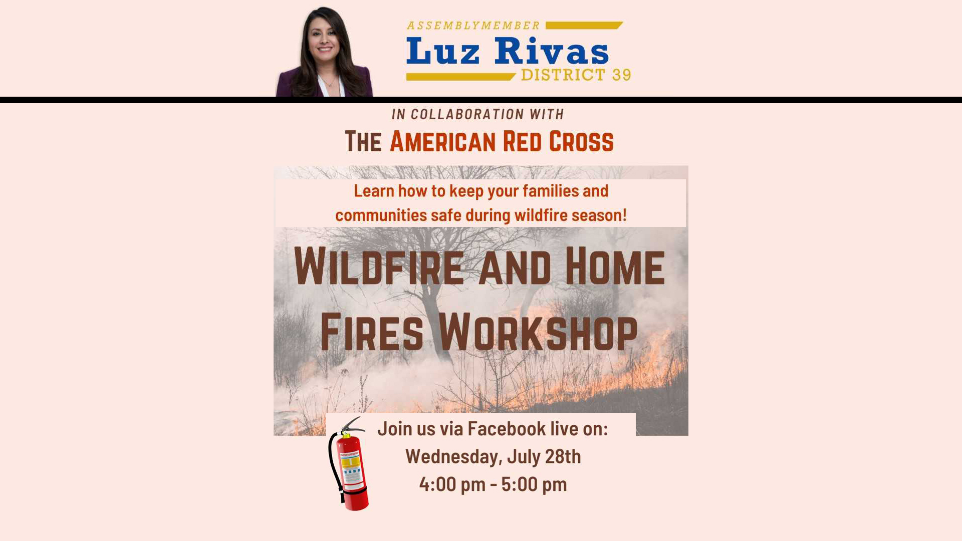 Wildfire and Home Fires Workshop